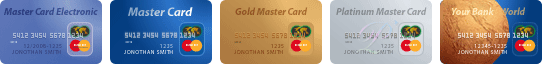 Пластиковые карты MasterCard